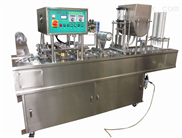 机械式绿豆沙八宝粥灌装封口机