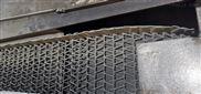 钎焊炉用高温挡边式不锈钢曲轴型网带