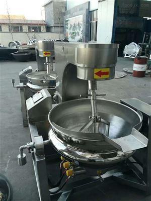 500L供应电磁连续式南瓜仁行星搅拌炒锅 设备
