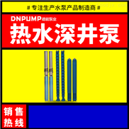 地热开发用耐高温深井泵