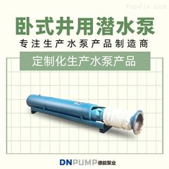 WQDB大流量卧式多级高扬程潜水泵