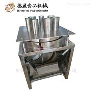商用蔬菜莲藕切圆片果蔬切片机德盈食品机械