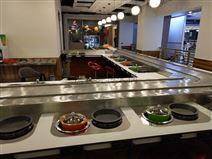 网红款 旋转小火锅餐桌 自助餐台设备 供应