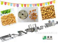 TSE70脆锅巴设备-油炸食品生产线