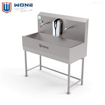 不锈钢洗手池 自动感应式洗手消毒池 洗手槽
