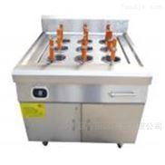 苏州厨鑫供应大功率电磁炉柜式九孔煮面炉