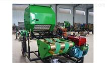 柴油动力青贮打捆机包膜一体机器