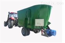 牵引式多绞龙TMR饲料搅拌机GD024-3