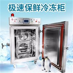 HDSD200大型液氮速冻机 推车式冷冻柜 10盘急冻设备