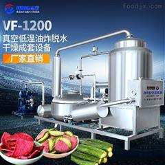 HDZK-3000肉类加工设备厂家苹果片真空油炸机