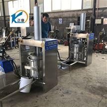 304不锈钢水果汁工业商用液压压榨机