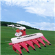 4GS-1.5型稻麥割曬多用機