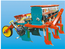 三行半悬浮式玉米播种机