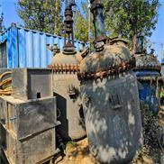 二手2吨搪瓷反应釜供应