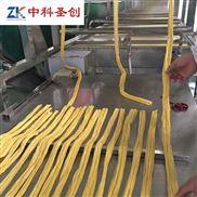 邯郸2019新型腐竹机现场试机 腐竹机器生产线 起腐竹机器定制