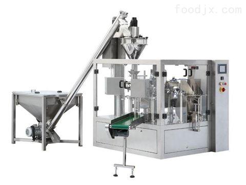 優質全自動智能給袋式食品粉末調味品包裝機