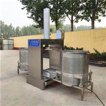 立式雙桶醬黃瓜蘿卜液壓脫水壓榨機