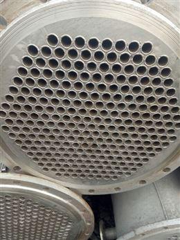 梁山地區 售 二手列管式.不銹鋼 換熱器.