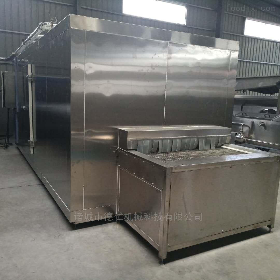 不锈钢食品加工设备隧道式食品速冻机