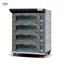 四层八盘烤炉 不锈钢烤炉定制 尼科烘焙设备