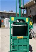 订做50吨油桶挤扁机