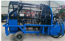 新型牽引式撿石機(土壤石頭清理設備)