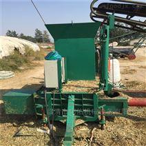 全自动青储玉米机 两缸液压青贮打包机