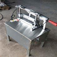 新款全不锈钢切骨机电助力手动切大骨机