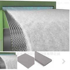 热处理渗氮炉人字型高温网带