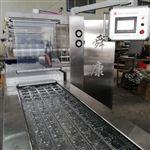 DLZ520拉伸膜海產品智能拉伸膜連續真空包裝機連續封口機