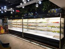 深圳风冷不结霜餐牛羊肉展示柜、食材自取柜