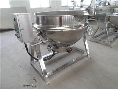 供应食堂食品加工设备厂家电加热夹层锅
