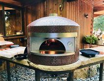 别墅庭院石窑炉燃气果木柴火披萨窑炉