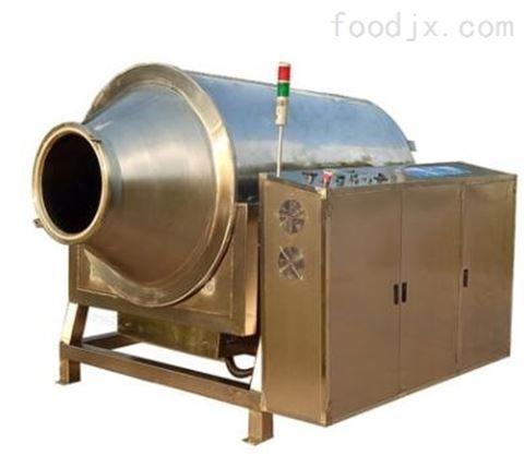 全自动电磁滚筒大型茶叶杀青机