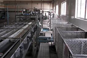 沙丁鱼罐头生产流水线