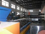 阻尼隔音毡板材挤出机,片材生产线(图示)