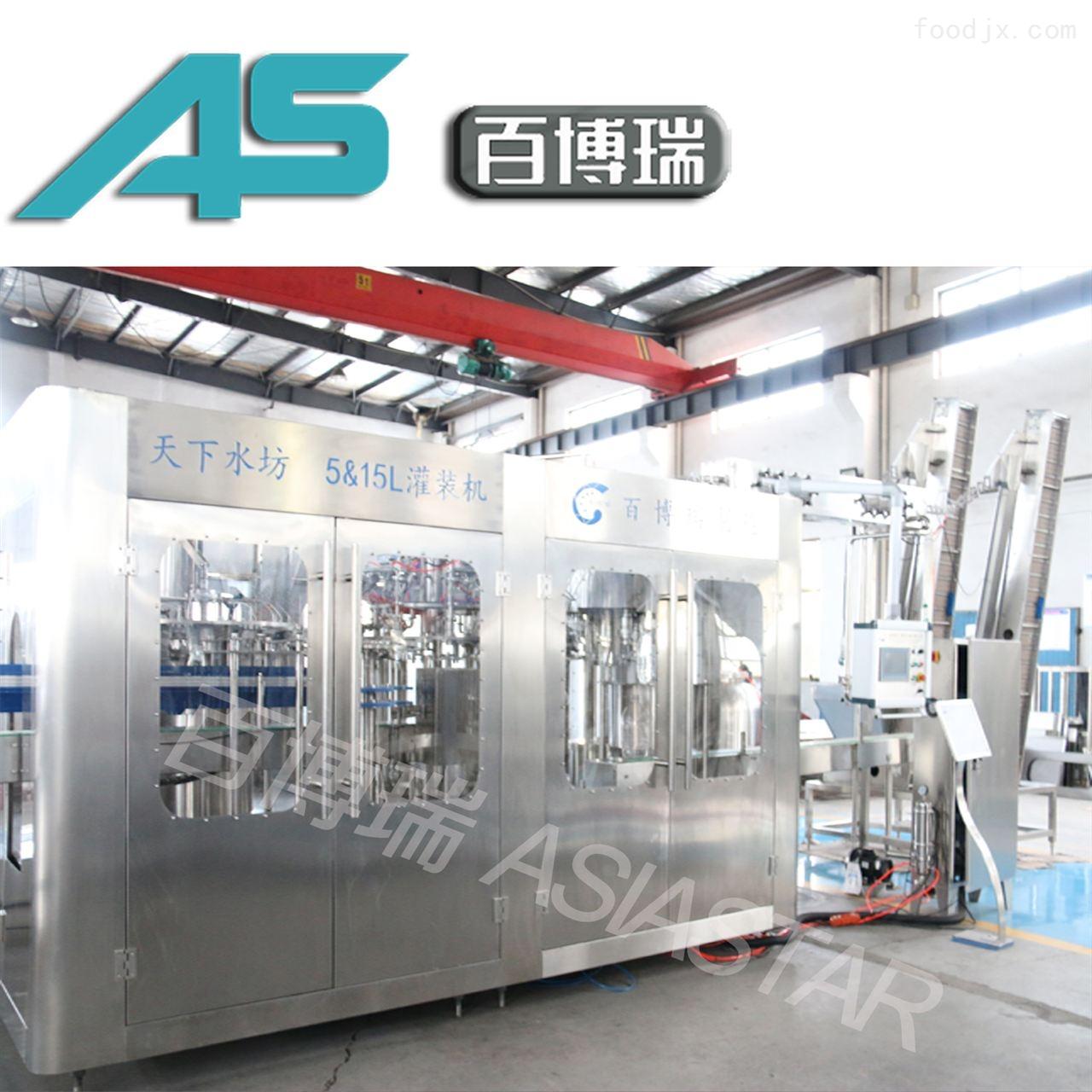 5-15L山泉水灌装机 四合一生产线机