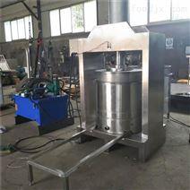 全自动多功能果汁压榨机 蔬菜液压脱水机