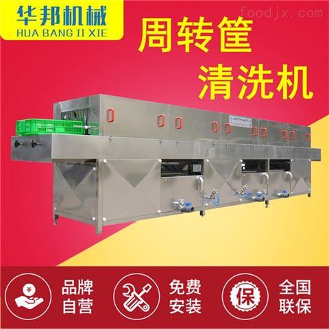 华邦机械 洗筐机 洗箱机 托盘清洗机