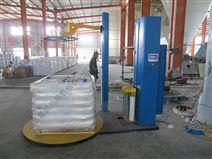 压顶式托盘缠绕膜包装机 泡沫板化工袋纸箱