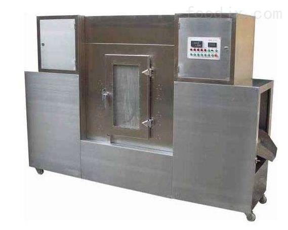 定制五谷杂粮微波烘焙熟化设备