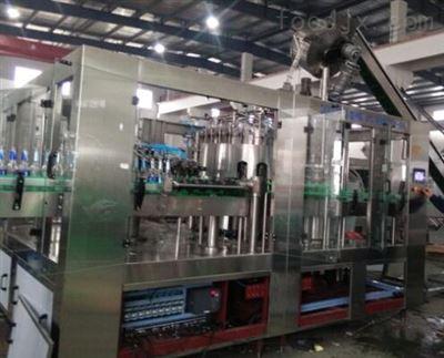 玻璃瓶饮料生产线设备