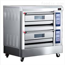濟寧紅菱兩層四盤電烤箱廠家批發價格