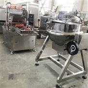 50型软糖浇注熬煮两件套 小型糖果生产设备
