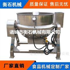 600电加热夹层锅 全自动商用燃气卤煮锅