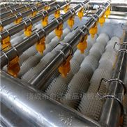廠家熱銷多功能胡蘿卜高壓噴淋氣泡清洗機