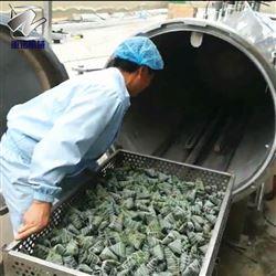 立式粽子高温蒸煮锅粽子杀菌锅