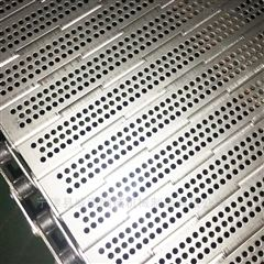 不锈钢链板式网带