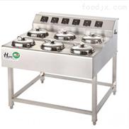 6头-无锡新粤海6头不锈钢食堂煲仔炉厂家销售