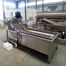 土豆加工生产线 马铃薯清洗烘干机
